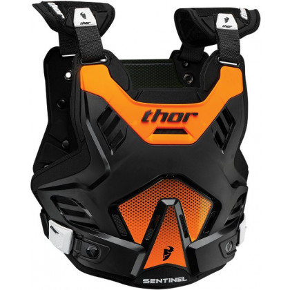 Thor Sentinel Gp youth roost guard Black/orange