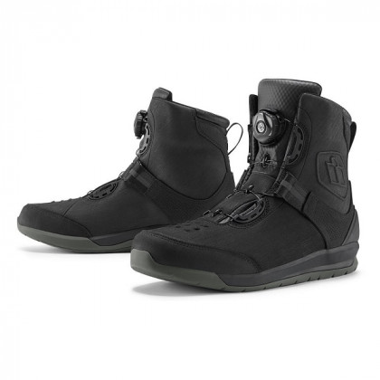 Icon Patrol 2 waterproof boots Black