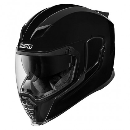 Icon Airflite Gloss helmet Black