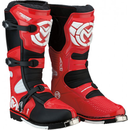 Moose Racing S18 M1.3 MX  Boots Red/black