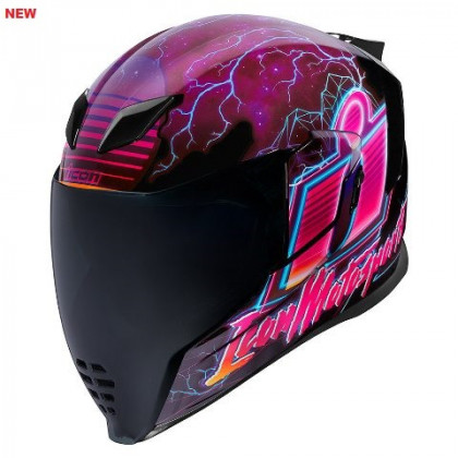 Icon Airflite Synthwave helmet Purple