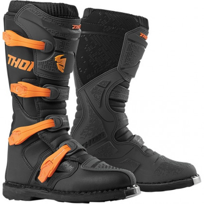 Thor Blitz XP Boots Charcoal/orange