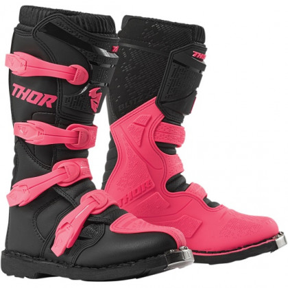 Thor women's Blitz XP Boots Black/pink