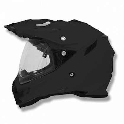 AFX FX-41DS Solid Helmet Flat black