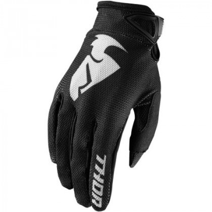Thor Sector youth glove Black