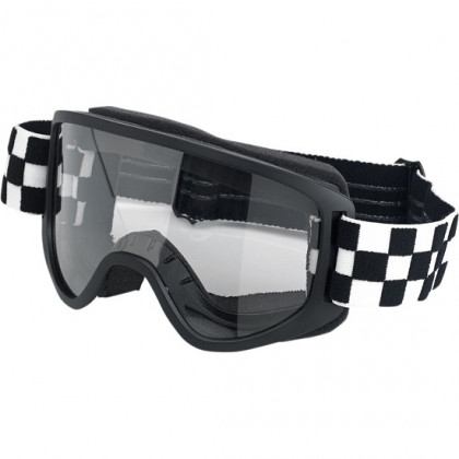 Biltwell Moto 2.0 ajolasit Checkers black