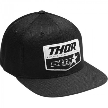 Thor Star Racing Chevron lippis Black/gray