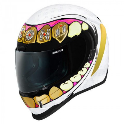Icon Airform Glillz helmet White