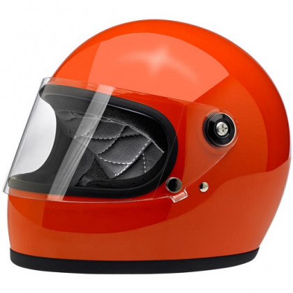Biltwell Gringo S kypärä Gloss hazard orange