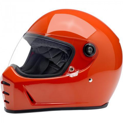 Biltwell Lane Splitter kypärä Gloss Hazard orange