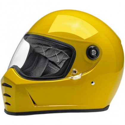 Biltwell Lane Splitter kypärä Safe-t yellow