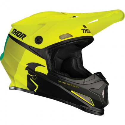 Thor Sector Racer youth helmet Acid/lime