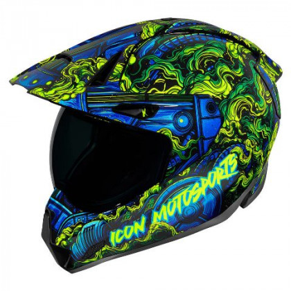 Icon Variant Pro Willy Pete helmet Blue