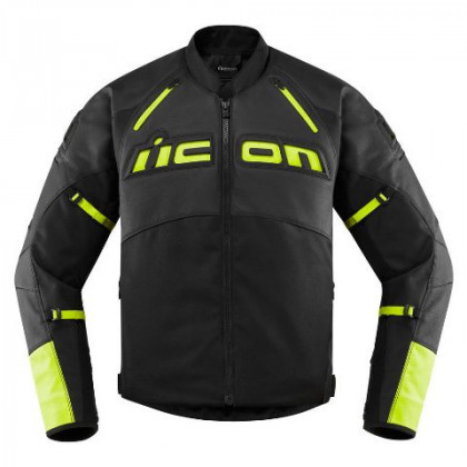 Icon Contra2 Leather ajotakki Hi-viz
