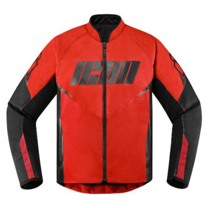 Icon Hooligan ajotakki Red