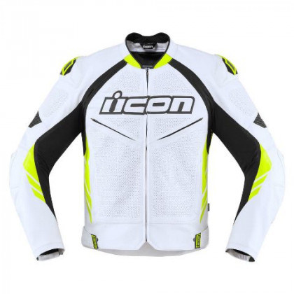 Icon Hypersport2 Prime ajotakki White/hi-viz