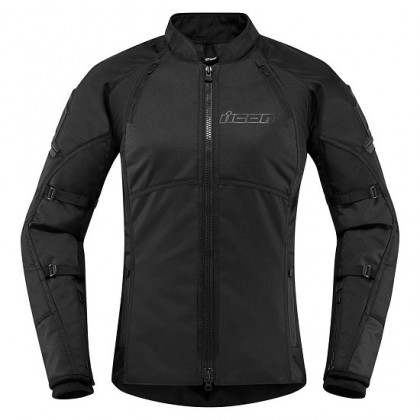 Icon Women's Automag 2 jacket Stealth