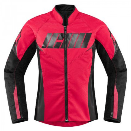 Icon Women's Hooligan jacket Rouge