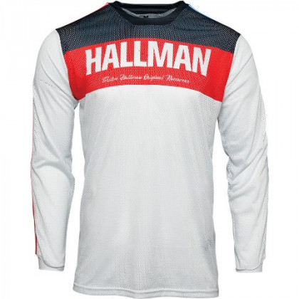 Thor Hallman Tapd Air jersey Red/white/blue