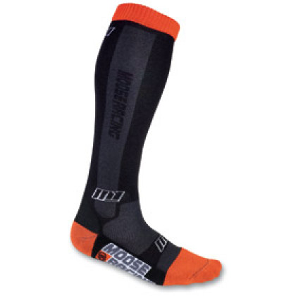 Moose Racing Mx Sock M1 Black/Orange