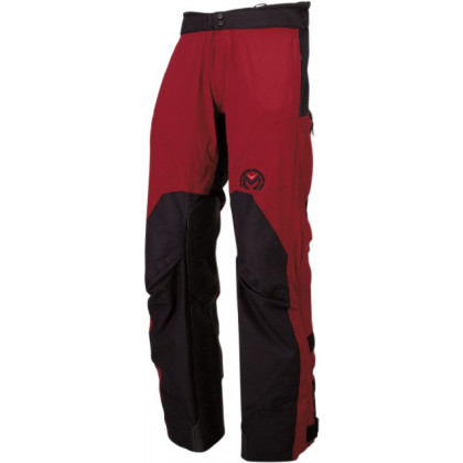 Moose Racing XCR ajohousut Maroon/black
