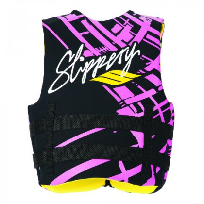 Slippery Naisten Electra Buoyancy liivi Black/pink