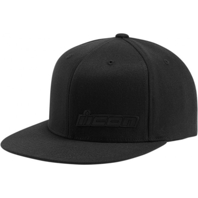 Icon Fused hat Black