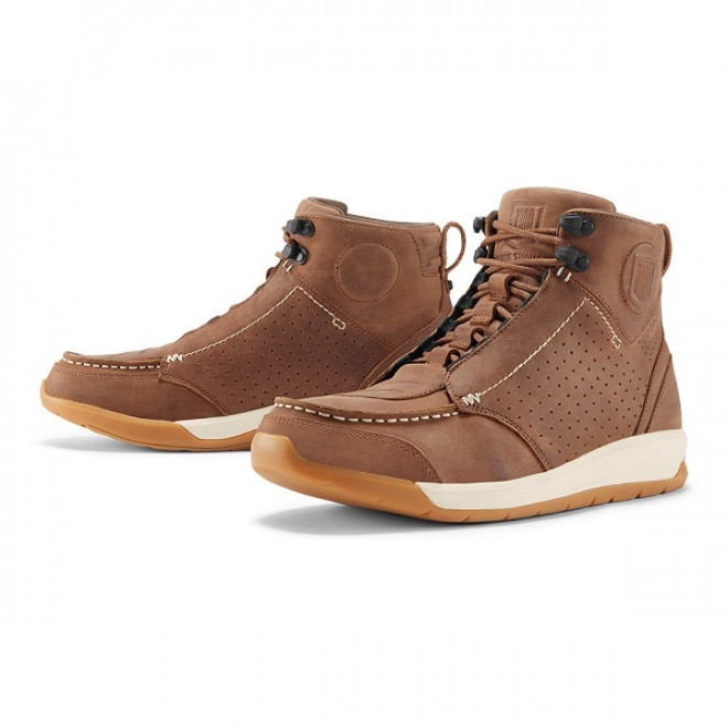 Icon 1000 Truant 2 ajosaappaat Brown