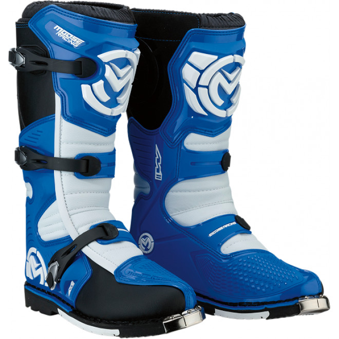 Moose Racing S18 M1.3 MX saappaat Blue/white