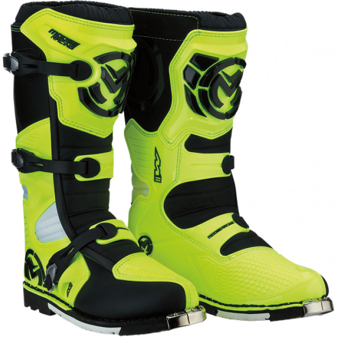Moose Racing S18 M1.3 MX saappaat Hiviz