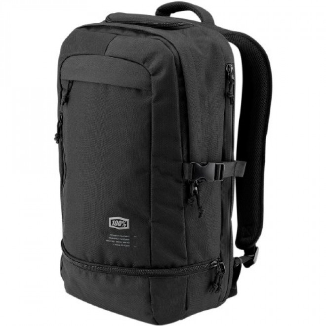 100 % Transit backpack Black
