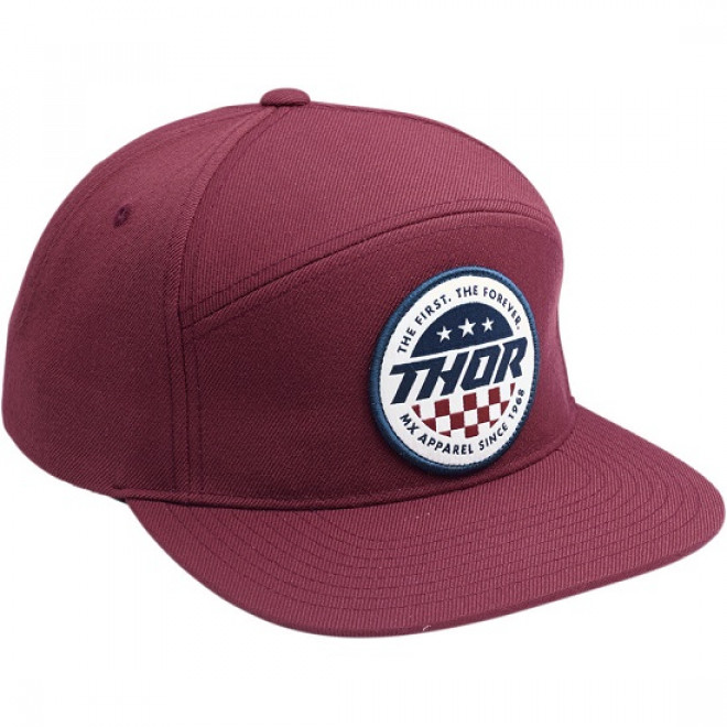 Thor Patriot hat Burgundy
