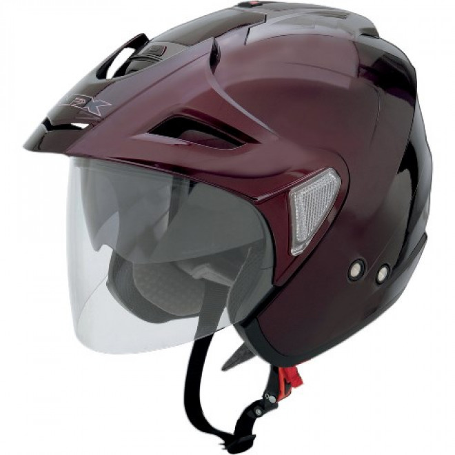 AFX FX-50 Helmet Flat Wine red