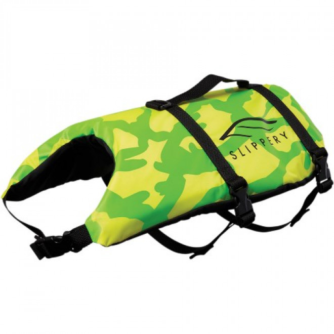 Slippery Pet vest Yellow/green