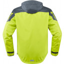 Icon Pdx 2 waterproof shell Hiviz yellow