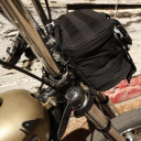 Biltwell Exfil-7 Fork bag Black